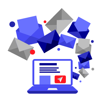 Send your newsletter to a huge number of emails in one shot